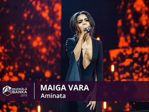 Стиль для выступления Aminata на концерте Muzikālā Banka 2019