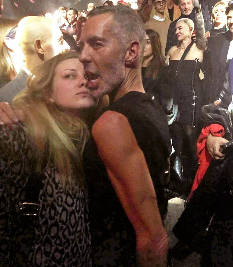 На неделе моды, AW2019/20 с Деном Кейтеном на вечеринке Dsquared²