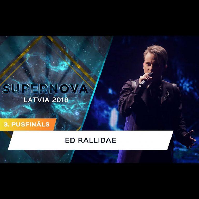 Стиль для выступления Ed Rallidae на конкурсе артистов Supernova 2018