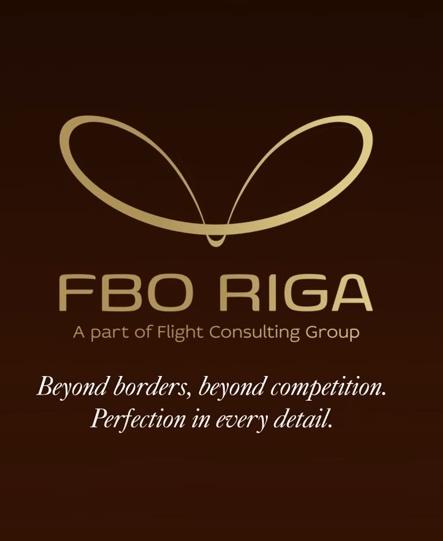 Рекламная компания терминала FBO Riga для частной авиации