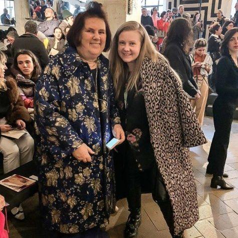 2020 февраль, неделя моды в Милане, встреча с модным критиком Сюзи Мэнкес.