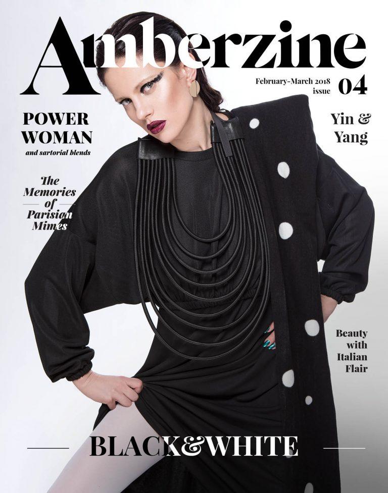 Medijs: Amberzine; Stailings: Black and White;