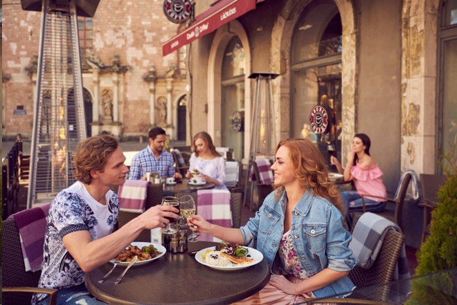 Создание образов для фотосессии сети ресторанов Double Coffee