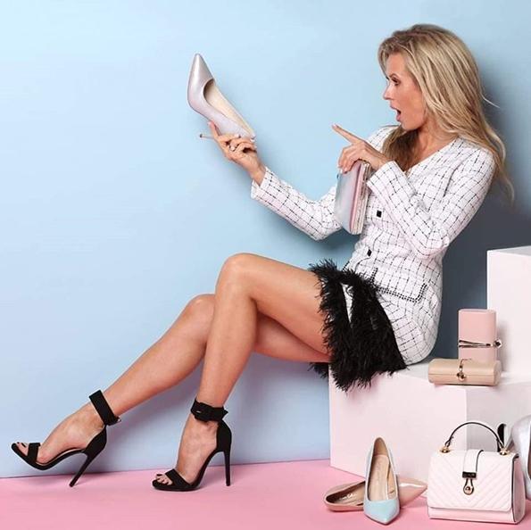 Рекламная компания сети обувных магазинов Gabi с Яной Дулевской