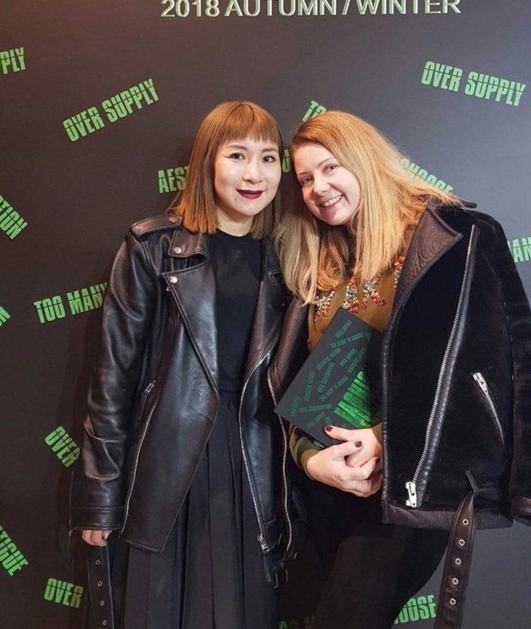 Anna Janga, dizainere un zīmola dibinātāja un Annakiki. MFW, 2018/19