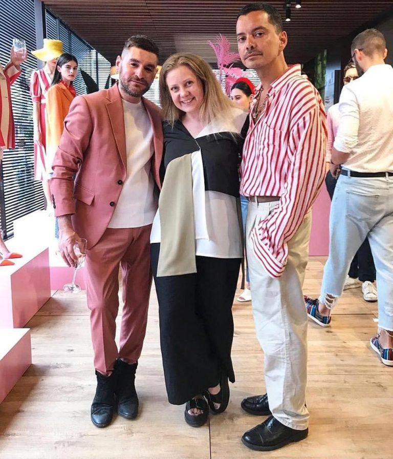 Diego Markes un Mirko Fontana, kreatīvie direktori Jour Le Jour AU un Be Blumarine, modes nedēļā Milānā, SS2020
