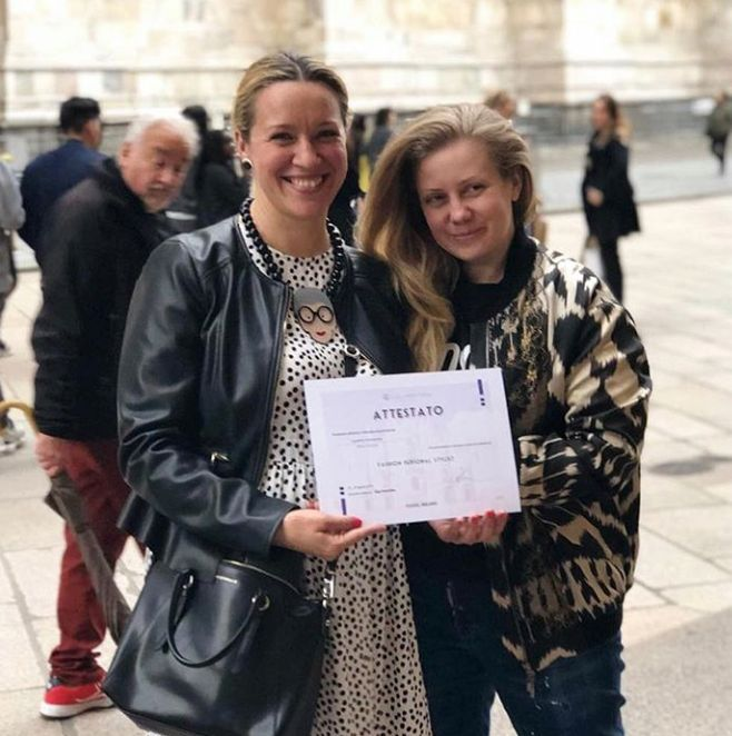 обучение стилистов в Милане
